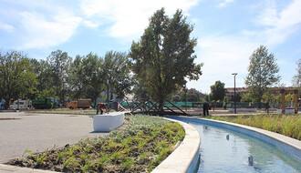 FOTO PRIČA: Park kod Bulevara Evrope polako dobija obrise