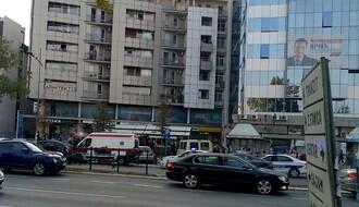 FOTO: Muškarac povređen u tuči na Bulevaru oslobođenja