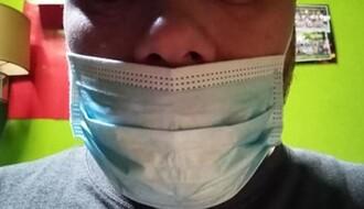 Ako nosite masku ispod nosa veća je verovatnoća da se zarazite od korone
