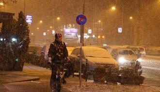 Prvi sneg zabeleo Novi Sad