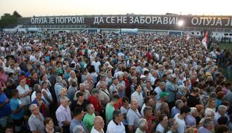 """FOTO: Na stadionu u Veterniku obeležen Dan sećanja na žrtve """"Oluje"""""""