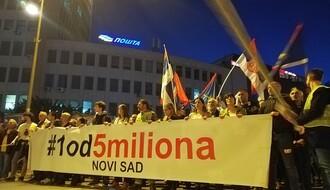 """NEZVANIČNO: U petak bez protesta """"1 od 5 miliona"""" u NS?"""