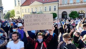 FOTO I VIDEO: Protest u Novom Sadu