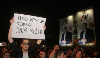 "NS: Održan drugi ""Protest protiv diktature"" (FOTO)"