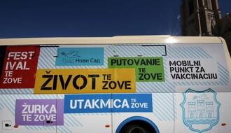 Mobilni punkt za vakcinaciju tokom vikenda ponovo u centru, ulaznice za Exit prvim primaocima u subotu
