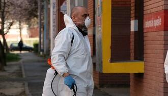 """""""Ciklonizacija"""": Počela dezinfekcija okoline tržnih centara i megamarketa (VIDEO)"""