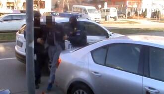 VIDEO: Uhapšen zbog pljačke kladionice na Novom naselju