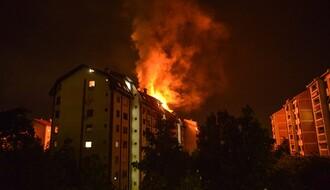 FOTO: Ugašen veliki požar na Detelinari, dve osobe lakše povređene