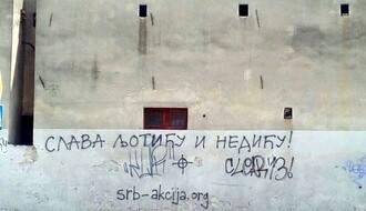 POLICIJI PRED NOSOM: U Novom Sadu osvanuli grafiti u slavu Ljotića i Nedića