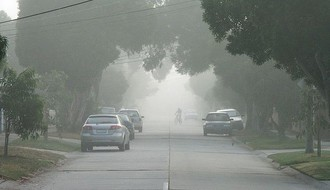 Maglovito i tmurno