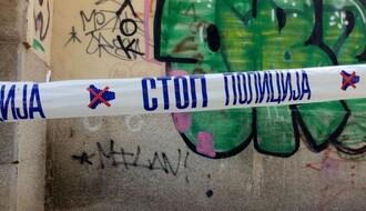 Blokiran deo ulice llije Birčanina, policija privela jedno lice