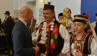 """FOTO: Održan svečani prijem za učesnike festivala """"Biserna grana"""""""