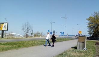 Otežan saobraćaj na Varadinskom mostu do početka Exita, 4. jula