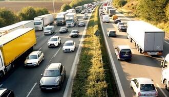 Kamioni na ulazak u Rumuniju čekaju dva sata