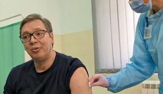 VIDEO: Aleksandar Vučić primio vakcinu protiv korona virusa