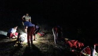 FOTO: Biciklista na Fruškoj gori zadobio povrede kičme, intervenisale Gorska i Čuvarska služba