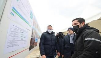 Vučević i Momirović obišli državne građevinske radove u Novom Sadu (FOTO)