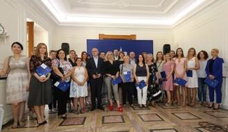 Dodeljeni ugovori ženama kojima su odobrene subvencije za samozapošljavanje