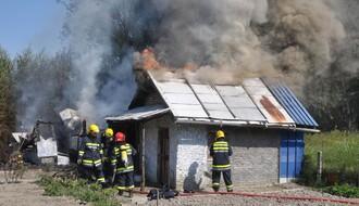 Požar kod Novog Naselja (FOTO)