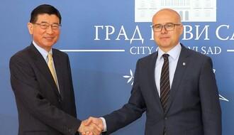 Ambasador Japana i Japansкa poslovna alijansa u poseti Novom Sadu