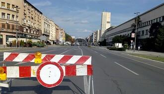 Bulevar Mihajla Pupina od petka do nedelje uveče zatvoren za saobraćaj
