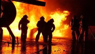 Izgoreo kamion na Iriškom vencu