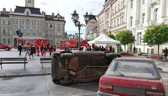 Pokazna vežba vatrogasaca-spasilaca u petak na Trgu slobode