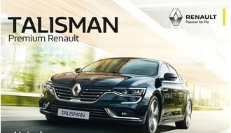 Doživite zadovoljstvo u vožnji visoke klase – Renault Talisman od 19.990  €