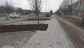 Nova parking mesta na Bulevaru Evrope u upotrebi od utorka