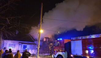 Još jedan požar: Izgoreo krov kuće na Klisi