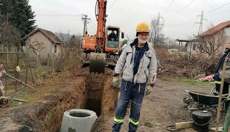 Dve ulice u Petrovaradinu dobijaju kanalizaciju početkom sledeće godine (FOTO)