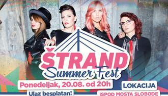 The Frajle večeras zatvaraju Štrand Summer Fest
