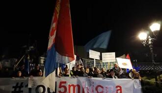 """Limanci i studenti pridružuju se protestima """"Jedan od pet miliona"""" u Novom Sadu"""