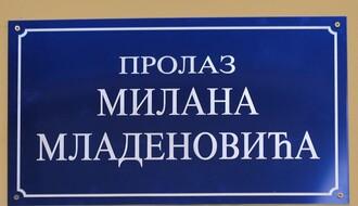 Prolaz u centru od danas nosi ime Milana Mladenovića