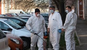 GRADSKI ŠTAB: Počela svakodnevna dezinfekcija javnih prostora
