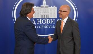 FOTO: Gradonačelnik Temišvara posetio Novi Sad