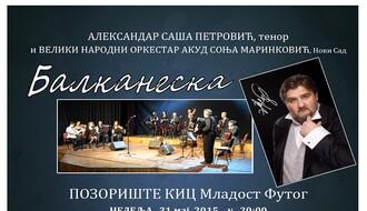 Koncert Aleksandra Petrovića u Futogu