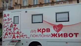 Transfuziomobil u četvrtak u kampusu UNS, u subotu na Trgu slobode
