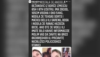 Nestala devojka iz Borče, porodica moli za pomoć