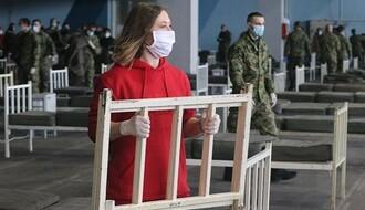 Zatvara se privremena bolnica na Novosadskom sajmu, u KCV-u 13 obolelih od Kovida-19