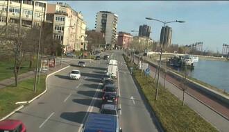Zbog posete predsednika zatvoren saobraćaj na Beogradskom keju