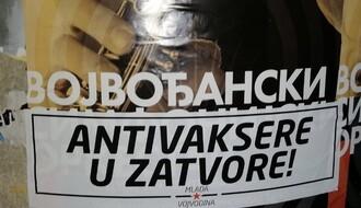 """FOTO: Organizacija """"Mlada Vojvodina"""" poziva na hapšenje antivaksera"""