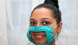 Mlada Novosađanka vratila osmehe uprkos maskama (FOTO)