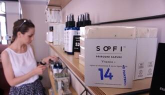 """NOVOSADSKI BREND KOJI SE PRODAJE U JAPANU: Mirišljava """"Sofi"""" u centru grada (FOTO)"""