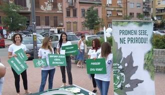 """Kampanja u NS: """"Automobil parkiraj, okolinu sačuvaj"""""""