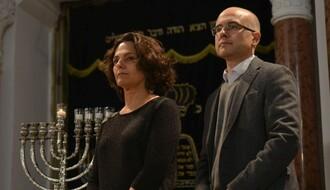 Mjuzikl i paljenje sveća u Sinagogi povodom Hanuke