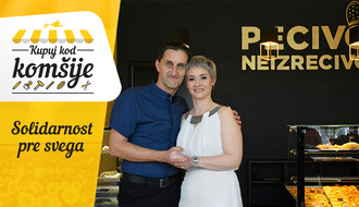 """PECIVO NEIZRECIVO"": Zbog njih Detelinara miriše na puter kifle i kroasane (FOTO)"
