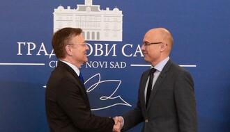 Ambasador Finske posetio Novi Sad (FOTO)