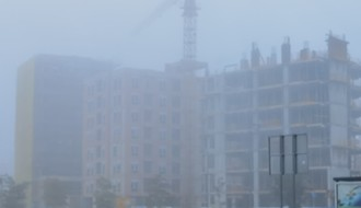 Novi Sad ceo dan okovan maglom, vazduh prekomerno zagađen (FOTO)