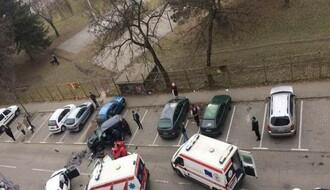 FOTO: Teška nesreća na Sajmištu, troje povređenih